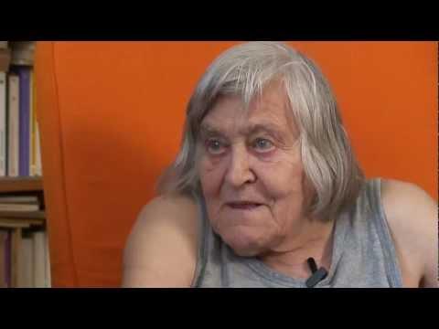 """Margherita Hack intervista per la Fiera 4 passi presentazione del libro """"Una margherita rossa"""""""