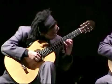Brasil Guitar Duo perform Piazzolla