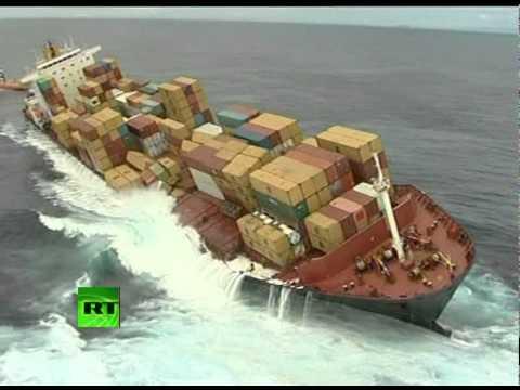 On-board poisoned tanker: Footage from stricken ship