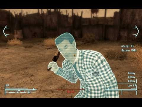 Fallout New Vegas - Fort - Intruding Mr.House's Bunker and getting Securitrons in shape.