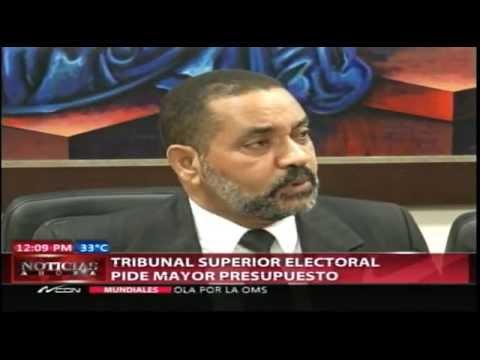 Tribunal Superior Electoral pide mayor presupuesto…