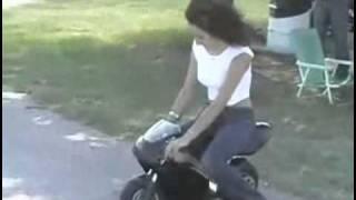 Mini Motorbike Fail