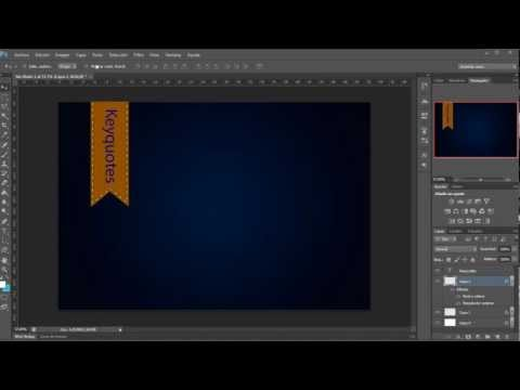 tutorial photoshop cs6 crear bandera para pagina web