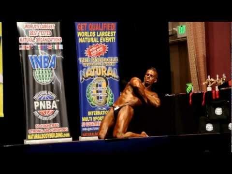 Bodybuilding Routine - 2012 INBA Night of the Natural Champions - Nick Colvill