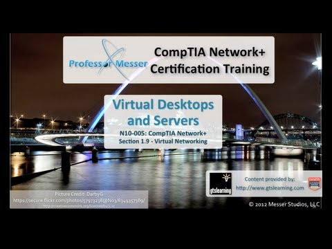 CompTIA Network+ N10-005: 1.9 - Virtual Desktops and Servers