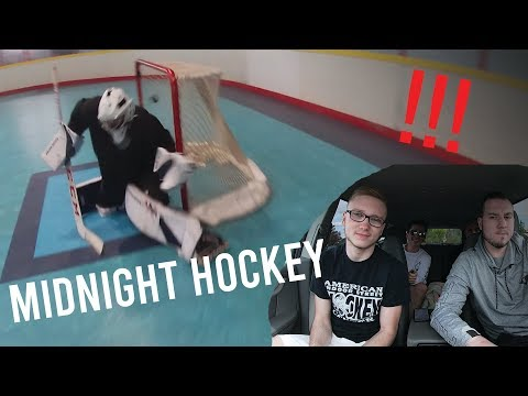 GoPro Roller Hockey - MIDNIGHT SKATE!! (IMPORTANT ANNOUNCEMENT) (HD)