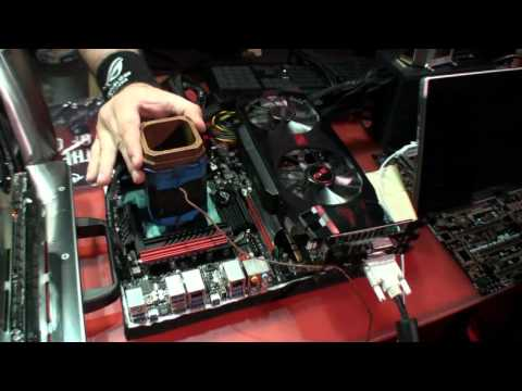 Team ROG extreme overclockers tell us about what they're doing at BlizzCon 2011