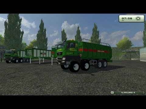 LS 13 Modvorstellung  MAN TGS Agrotruck pack BETA (SP) (MP)