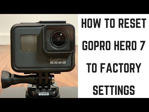 How to Factory Reset GoPro Hero 7