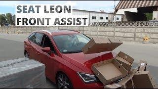 Seat Leon - działanie systemu Front Assist