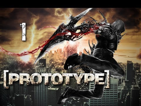 Prototype Walkthrough - Part 1 Prologue Rampage Let's Play PS3 XBOX PC (Gameplay / Commentary)