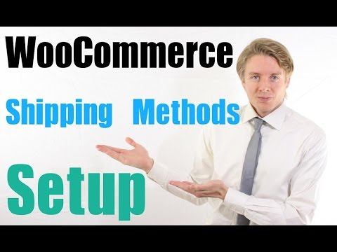 WooCommerce Shipping Methods Setup