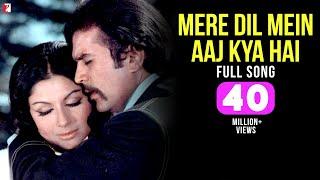 Mere Dil Mein Aaj Kya Hai - Full Song HD  Daag  Rajesh Khanna  Sharmila Tagore  Kishore Kumar