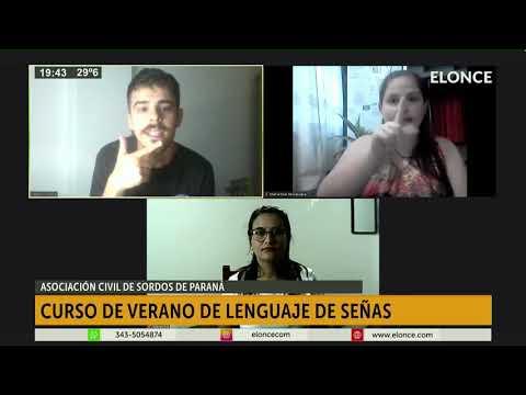 Asociación Civil de Sordos de Paraná realizará un curso de lenguaje de señas
