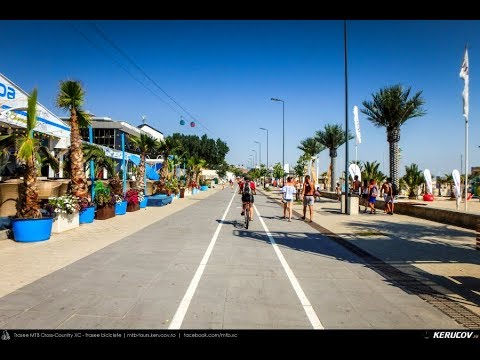 VIDEOCLIP Cu bicicleta prin Mamaia, Constanta, Romania