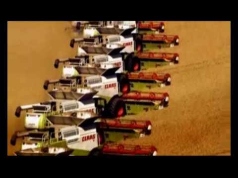 Claas Harvesting Worldwide!!!