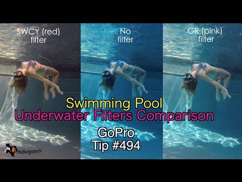 GoPro Underwater Filters Swimming Pool Comparison - GoPro Tip #494 - UCTs-d2DgyuJVRICivxe2Ktg