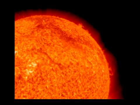 Solar Flare August 1, 2010, HD color