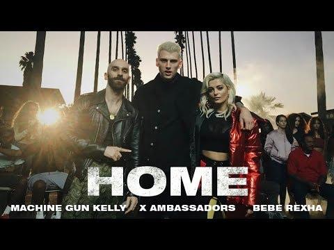 Machine Gun Kelly, X Ambassadors & Bebe Rexha – Home from Bright: The Album