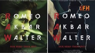 Romeo Akbar Walter | OFFICIAL TRAILER | Sushant Singh Rajput | IFH