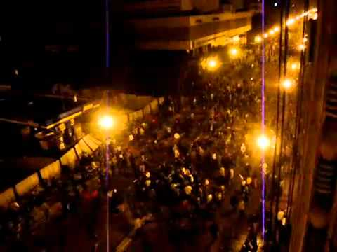 huge government van runs over and kills a ton of people in cairo egypt during egyptian revolution