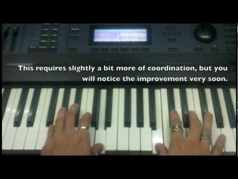 Piano Exercise #4 - Strengthening & Pinky Working