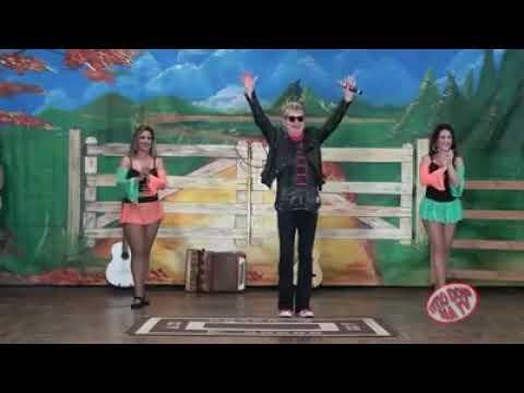 Roberto Leal  : no programa Titio Doni na TV cantor da música sertaneja e português
