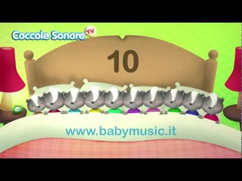 Ten in the bed - Canzoni per bambini di Coccole Sonore