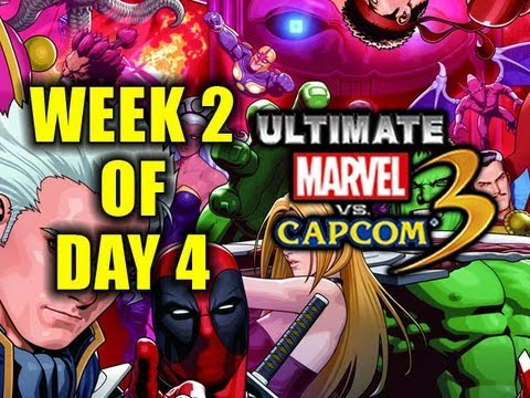 Week 2 of UMVC3! Day 4