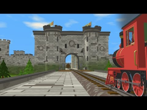 Shawn the Train is on a Quest to find the letter Q in the Queen's castle!