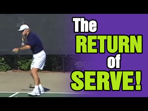 Tennis Lessons - Key Ingredients Of The Return Of Serve | Tom Avery Tennis 239.592.5920