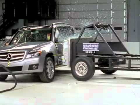 Crash Test 2011 - 20** Mercedes Benz GLK (Side Impact) IIHS