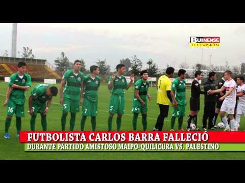 شاهد بالفيديو : وفاة لاعب فريق مايبو لكرة القدم خلال مباراة في الدوري التشيلي