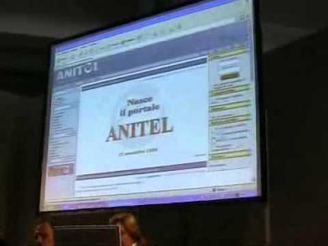 1° Convegno Nazionale ANITEL al TED 2004 di Genova