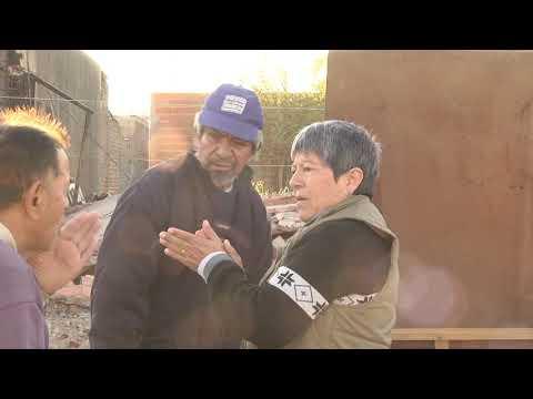 Desalojaron y demolieron la vivienda que ocupaba un vecino de Colonia Avellaneda