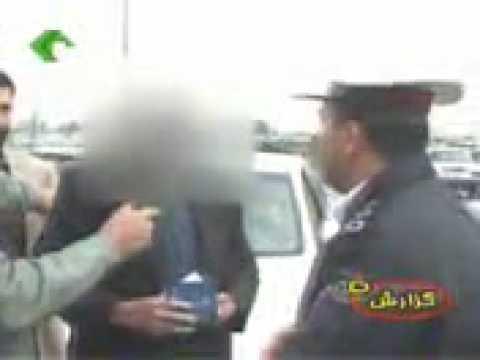 Funny Mashadi Iranian driver-khande dar