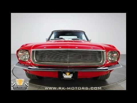 132218/1967 Mustang Convertible