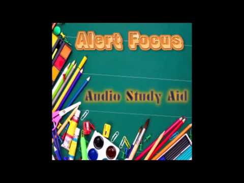 Alert Focus Audio Study Aid (Isochronic Binaural Beat)
