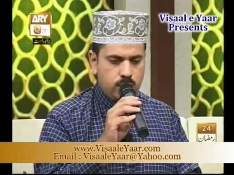 Urdu Naat( Iltja Hai karm Ki)Syed Ikram Akbar In Qtv.By   Naat E Habib