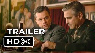 The Monuments Men Official Trailer (2013) - George Clooney, Matt Damon Movie HD