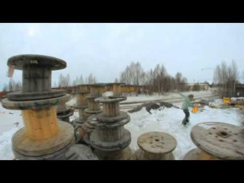 Короткометражное видео о сноубординге