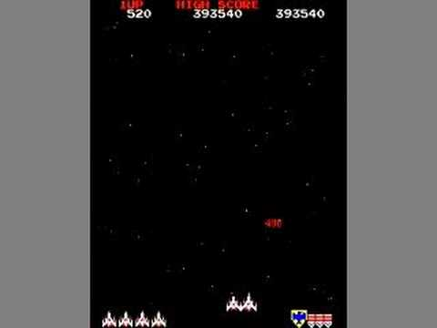 Amazing Galaga Gameplay - part 1 of 2