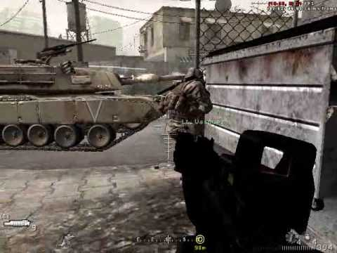 Call of Duty 4: War Pig - Escort the M1A2 Abrams Tank