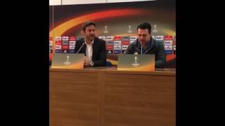 Europa League - APOEL FC coach Press Conference 03/11/2016