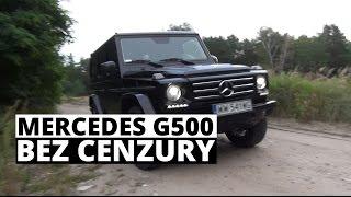 Mercedes-Benz G500 - BEZ CENZURY - Zachar OFF