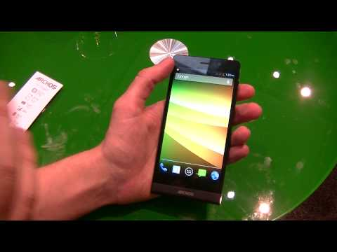 Archos 50c Oxygen - présentation au #MWC14 | par Top-For-Phone.fr
