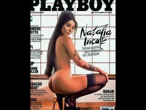 CONFIRA A CAPA DA 'PLAYBOY' COM NATALIA INOUE