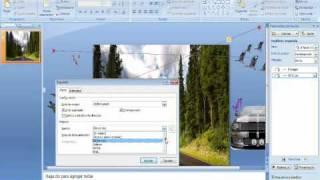 Como hacer diapositivas con animacion en power point