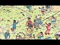 Фрагмент с средины видео - Где Уолли? 3 уровень. Where's Wally? 3 level