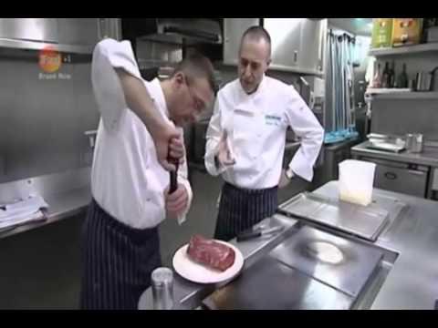 Michel Jnr   Alain Roux   Beef en Croute with Sauce Bearnaise